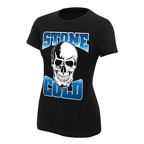 WWE Stone Cold Steve Austin Stomping Mudholes Women's T-Shirt Black Small