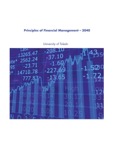 Fundamentals of Corporate Finance, Principles of Financial Management - 3040, University of Toledo