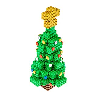 Strictly Briks Building Bricks and Blocks Set | 3D Briks Tree | 100% Compatible with All Major Brick Brands | 152 Pieces