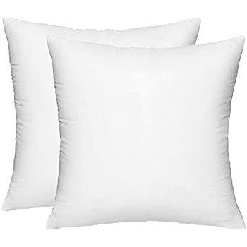 Amazon HIPPIH 40 Pack Pillow Insert 40 X 40 Inch Enchanting 18 Inch Pillow Insert