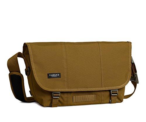 Timbuk2 Flight Classic Messenger Bag, Brass/Army, M, Brass/Army, Medium