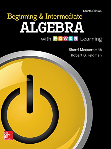 Download Beginning and Intermediate Algebra with P.O.W.E.R. Learning Pdf