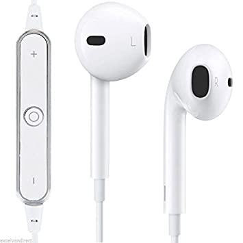 5c6550491af Mobicell Oppo A37 Compatible Wireless Bluetooth Earphone with Mic,  Sweatproof Sports Headset, Stereo Sound