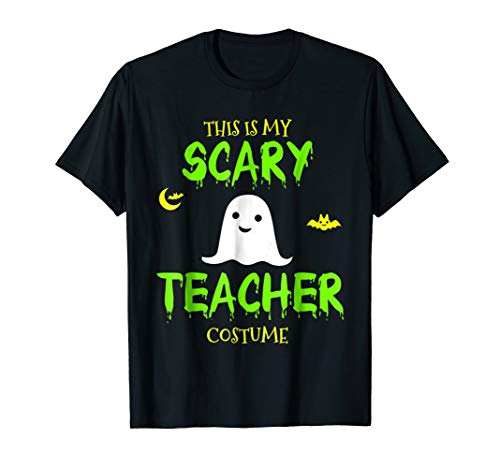 This Is My Scary Teacher Costume Halloween T-Shirt