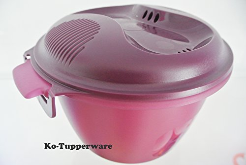 Limited Edition Tupperware Microwavable Rice Cooker Purple (1) 2.2L