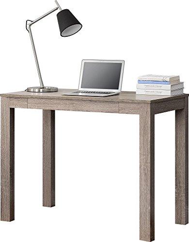 Ameriwood Home Delilah Parsons Desk With Drawer Sonoma