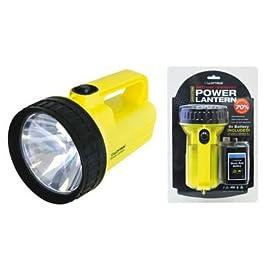 Lloytron Marmm Dual Power Lantern with PJ996 Battery Yellow