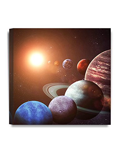 DecorArts Canvas objects Planets 24x24x1 5