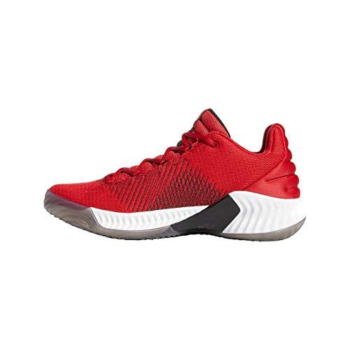 Pro 2018 cblack powred Adidas Da Uomo cblack ftwwht Basket Powred Rosso Bounce ftwwht Low Scarpe E4wqdHw