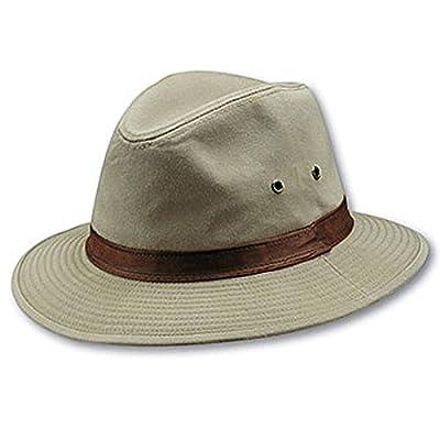 Dorfman Pacific DPC Outdoor Water Repellent Safari Hat from Dorfman Pacific