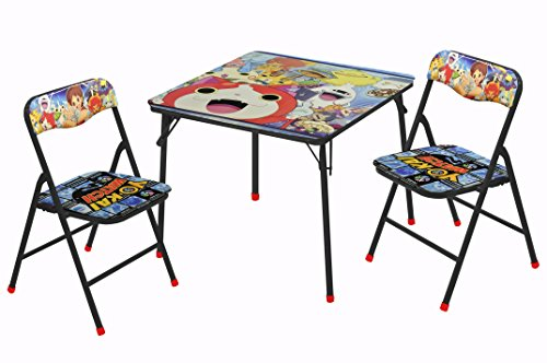 Level-5 Yo Kai Watch 3 Piece Table and Chair Set -