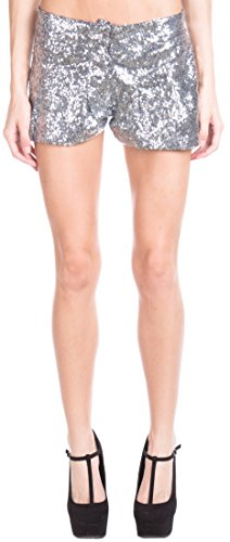 ragstock-womens-sequin-tap-shorts-silver-small