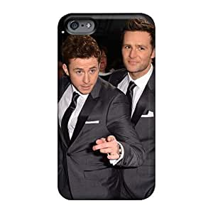 RitaSokul Iphone 6 Protective Cell-phone Hard Cover Support Personal Customs Realistic Mcfly Band Pictures [Avr1008tbcz]