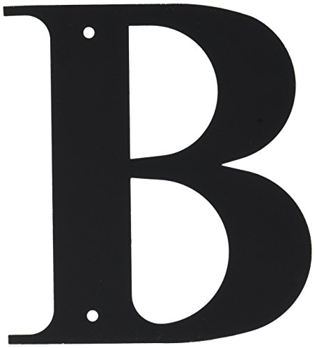 6 Inch Letter B Small by Village Wrought Iron