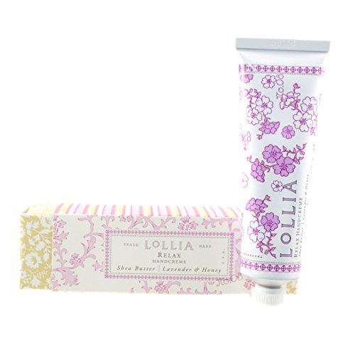 Lollia Relax Travel-Size Hand Cream