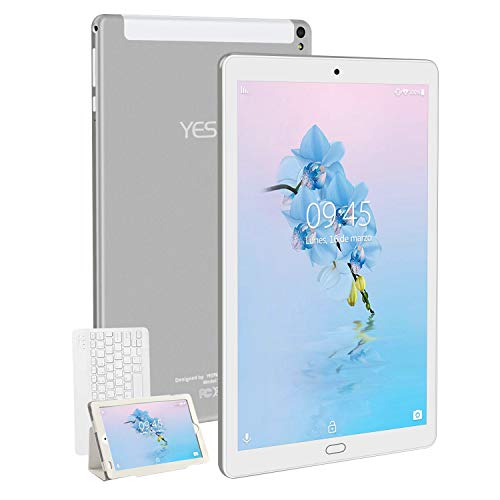 🥇 Tablet 10.1 Pulgadas YESTEL Android 8.1 Tablets con 3GB RAM & 32GB ROM y 4G LTE Dual SIM Call