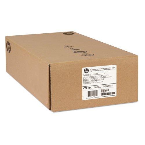 HP - Everyday Adhesive Matte Polypropylene, 120 g/m2, 24'' x 75 ft, White, 2 Rolls/Pk C0F18A (DMi PK