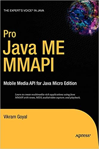 Pro Java ME MMAPI: Mobile Media API for Java Micro Edition: Vikram