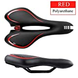 Quaanti New Arrival Comfortable Road Bike Mountain Bike Seat Thick Cushion Hollow Bicycle Saddle Cycling Exercise Bike Seat (A)
