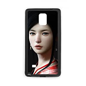 asian girl 2 Samsung Galaxy Note 4 Cell Phone Case Black yyfD-286238