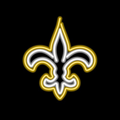 Imperial NFL Neon Sign - New Orleans (Nfl Team Neon Sign)