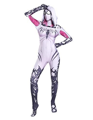 Lycra Spandex Carnage Gwen Spider Female Cosplay Costume