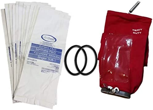 10 Bags Genuine Eureka Sanitaire F and G Bags Premium Allergen Type Vac OEM