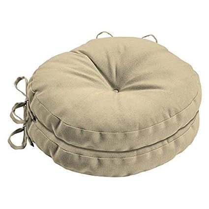 Cool Amazon Com Natural Tan Acrylic 15 Round Bistro Chair Interior Design Ideas Helimdqseriescom