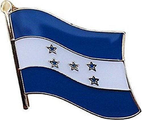 MWS Honduras Country Flag Bike Motorcycle Hat Cap Bags Jacket Unisex Beautiful Enamel pin Premium Lapel Pin (Honduras Jacket)