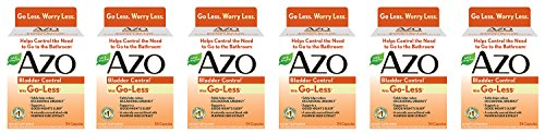 AZO Bladder Control Jrnsv Supplement - 54 Count (6 Pack) ...