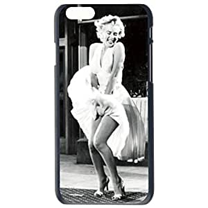 Fashion Custom Sexy Marilyn Monroe Design Plastic Hard Case Cover Back Skin Protector For Apple iPhone 6G Plus 5.5 by Alexism Size110