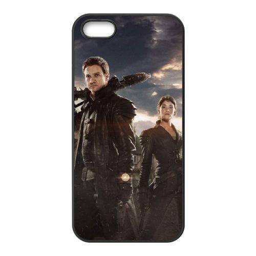 Hansel And Gretel Witch Hunters Movie coque iPhone 4 4S cellulaire cas coque de téléphone cas téléphone cellulaire noir couvercle EEEXLKNBC25578