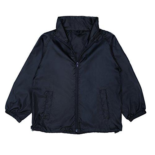 Yes Way Unisex Child Kids Windbreaker Jacket Lightweight Waterproof Breathable Coat for 8 Years