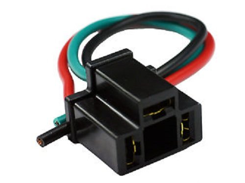 - Socket Pigtail for 3-Prong Automotive Relays/Flashers