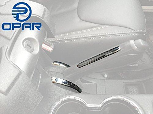 Opar Silver Handbrake Cover Trim for 2011 - 2018 Jeep JK Wrangler & Unlimited - Set
