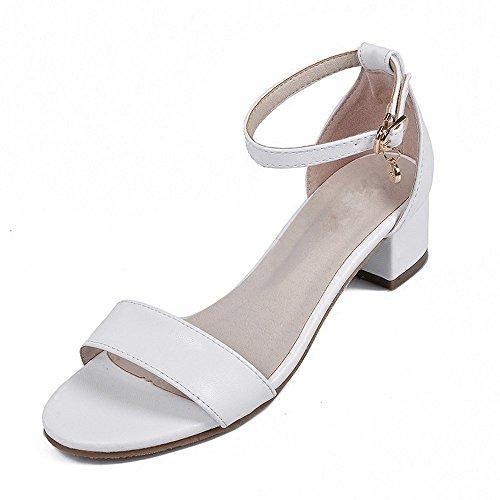 BAJIAN-LI haute Heelswomen Sandales, femme d'été Boho Plat Sandales Talon bas Tongs Chaussures de plage décontracté Sandales pour femme