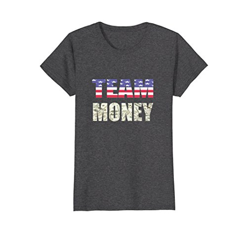Womens Team Money American Boxing Is Better Than Irish MMA T-Shirt Large Dark Heather - Mma Fight Team