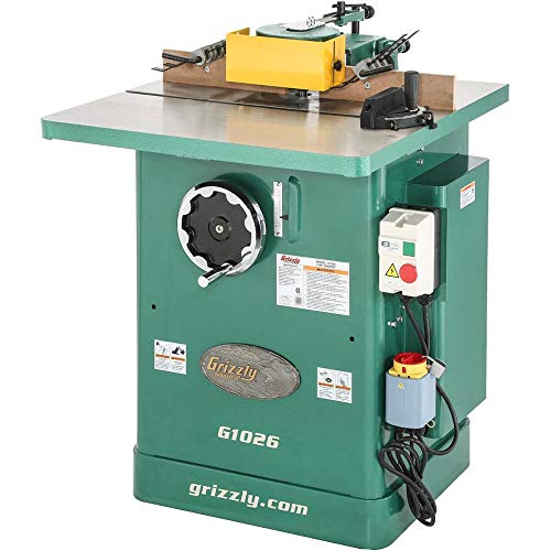 - Grizzly G1026 Shaper, 3 HP