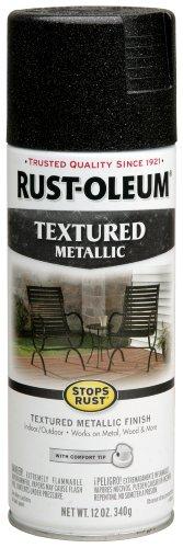 Rust Oleum 252303 12 Ounce Textured Metallic