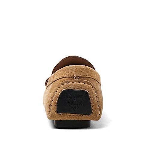 Ante para Miyoopark marrón de Mocasines UK XCR8028 Hombre fqOIUTwH