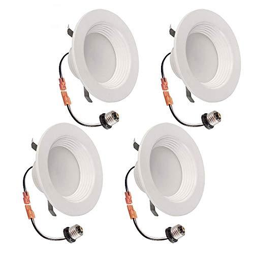 TriGlow T80423-4 12-Watt Retrofit Downlight Kit (100W Replacement), Fit for 5