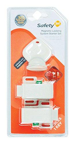 Safety 1st Magnetic Locking System Starter Set (2 Locks, 1 Key)