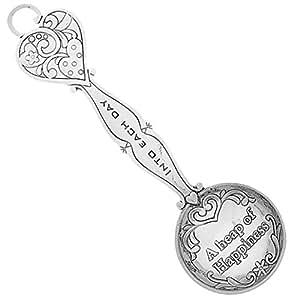 Measure of Happiness Heart Keepsake Teaspoon - A Heap of Happiness