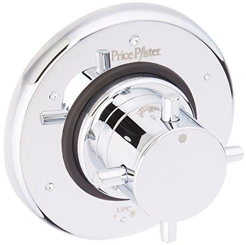 Pfister R79-600C R79-600C 3/4-Inch Thermostatic Shower Trim Kit, Chrome Pfister