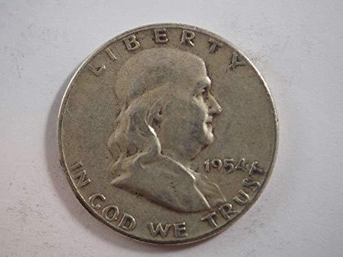 1954 P Franklin Half Dollar Half Dollars ()