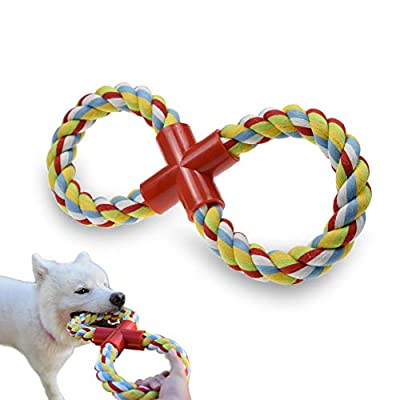 LECHONG-Dog-Rope-Toy-for-Aggressive-Chewers-8-Shaped-Durable-Dog-Training-Toys-for-Large-Dogs-Upgrade-Indestructible-Tug-of-War-Dog-Toys-for-Teething-Chewing-and-Playing