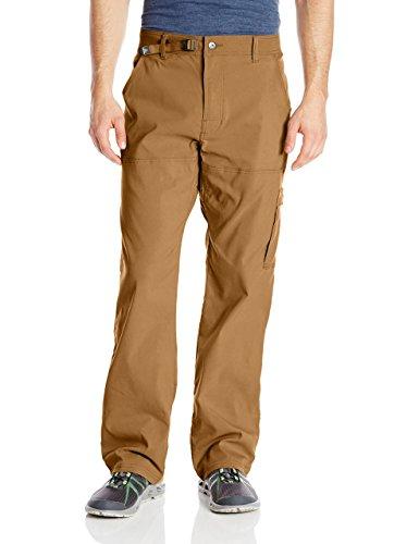 """prAna Men's Stretch Zion 32"""" Inseam Pants, Dark Ginger, Size 32"""