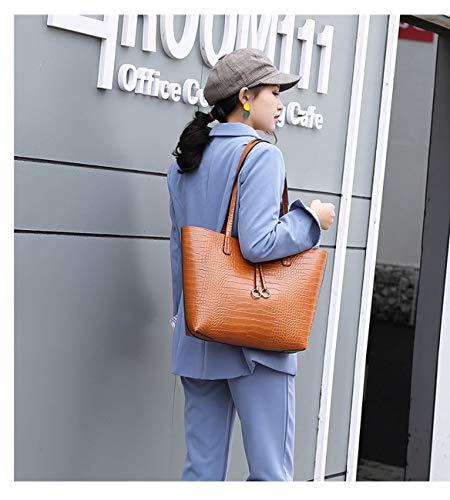 Blue Donna Koon Spalla L Blu Borsa A 6w6xq4B