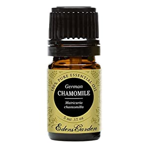 Chamomile German 100 Pure Therapeutic Grade Essential Oil By Edens Garden 5 Ml