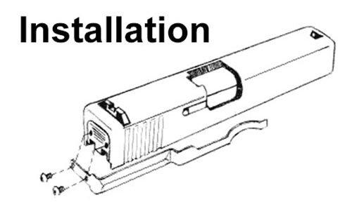 Lethal-Eye Glock Belt Clip Holster Concealed Gun Blet Carry